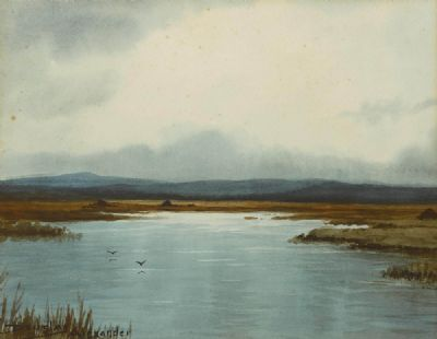 BOG STREAM, CONNEMARA by Douglas Alexander sold for €290 at deVeres Auctions
