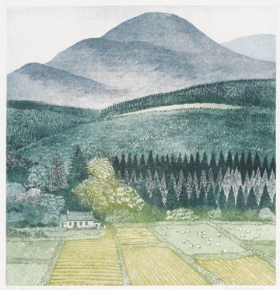 BENEATH SLIEVE DONARD by Anne M. Anderson sold for €160 at deVeres Auctions
