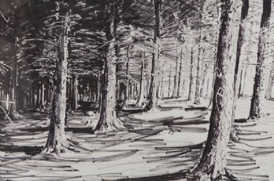 FOREST THREE by Brendan Early sold for €140 at deVeres Auctions