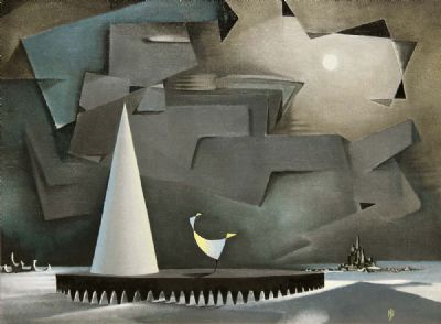 Arctic by Nevill Johnson sold for €4,000 at deVeres Auctions