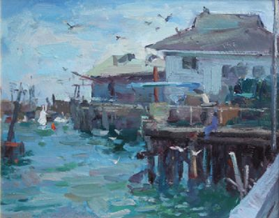 MONTERAY CALIFORNIA by Sunny Apinchapong-yang sold for €220 at deVeres Auctions