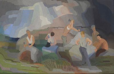 STONEWORKERS by Margaret Stokes  at deVeres Auctions