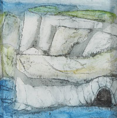 THE SEA CAVE by Padraig MacMiadhachain  at deVeres Auctions