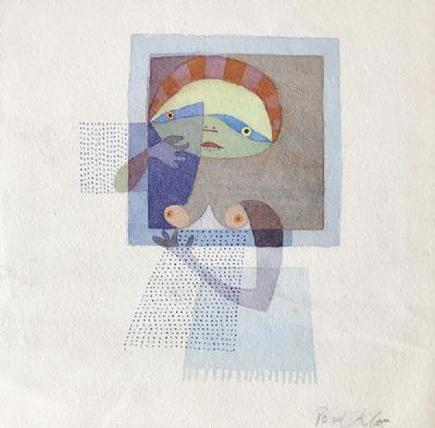 HOMAGE TO PAUL KLEE by Colin Middleton MBE, RHA, RUA at deVeres Auctions