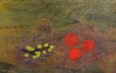 GRAPES AND RED FRUIT by Anne Yeats  at deVeres Auctions