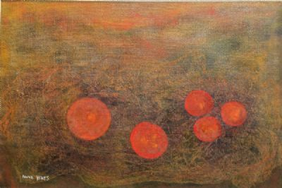 FIVE RED FRUITS by Anne Yeats  at deVeres Auctions