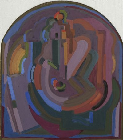 COMPOSITION by Evie Hone RHA at deVeres Auctions