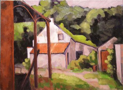 ABANDONED FARM by Bob Lynn  at deVeres Auctions