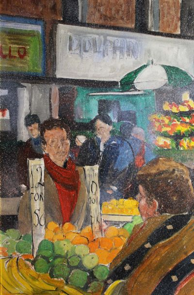 MOORE STREET, a pair by John Dunne  at deVeres Auctions