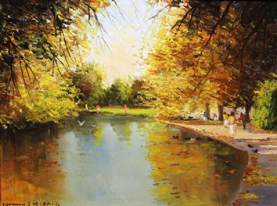 ST STEPHENS GREEN, DUBLIN by Norman J McCaig  at deVeres Auctions