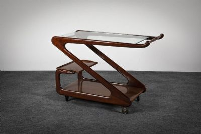 AN ITALIAN BAR TROLLEY at deVeres Auctions