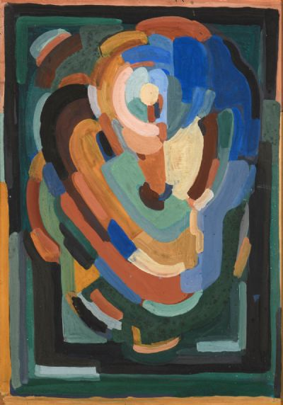 ABSTRACT COMPOSITION by Evie Hone RHA at deVeres Auctions