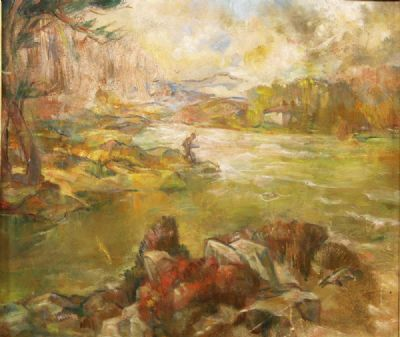 STORMY DAY IN THE WEST OF IRELAND by Mary Swanzy HRHA at deVeres Auctions